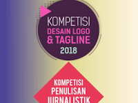 [Gratis] Kompetisi Desain Logo & Tagline dan Penulisan Jurnalistik Nasional 2018