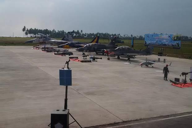 Puluhan Pesawat Tempur TNI Akan Bombardir Pulau Natuna