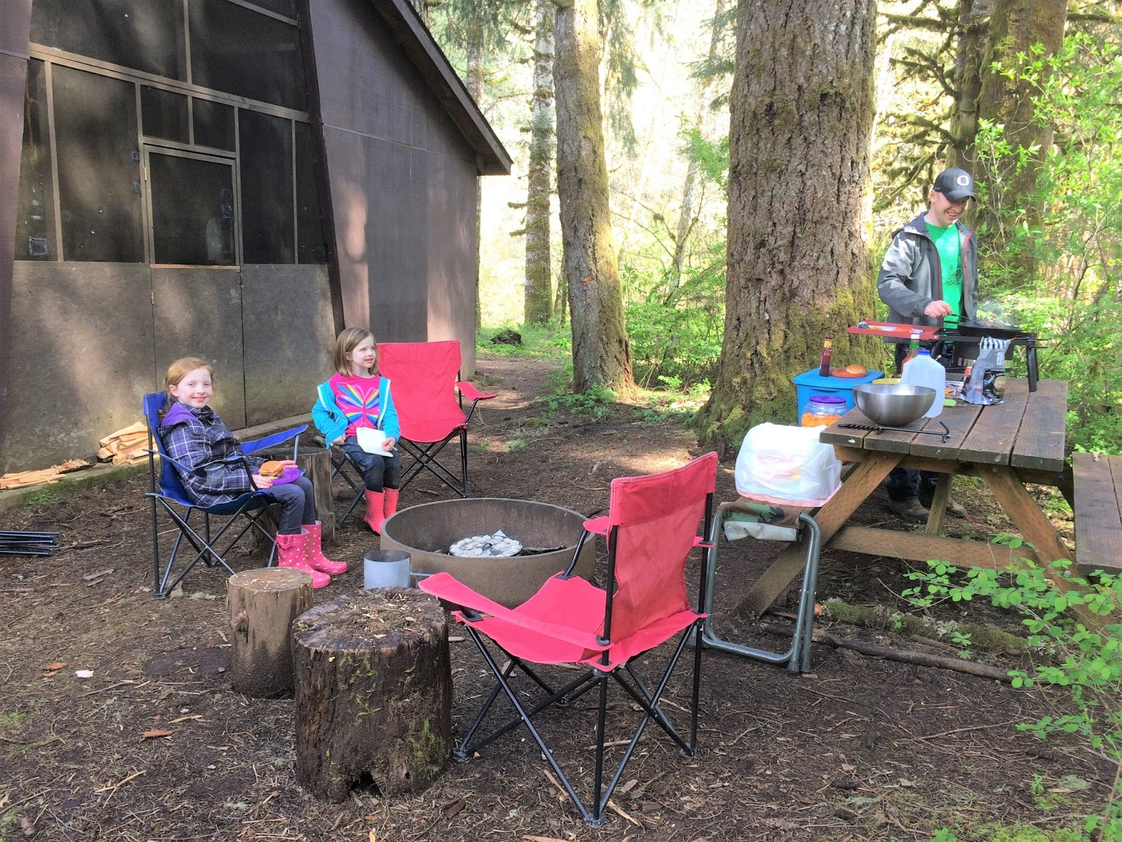 Camp Alpine LDS Girls Camp: Scouts and Families Camping in March