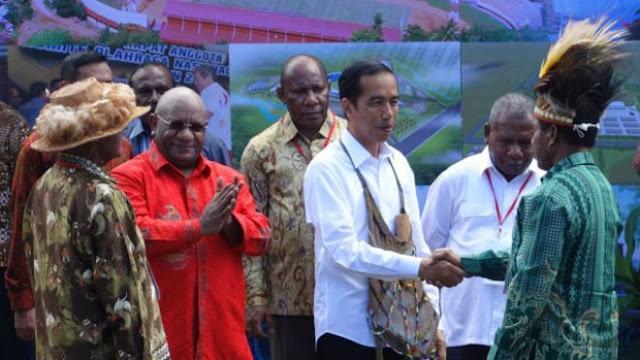 Berkunjung ke Papua, Jokowi Resmikan 6 Infrastruktur Kelistrikan