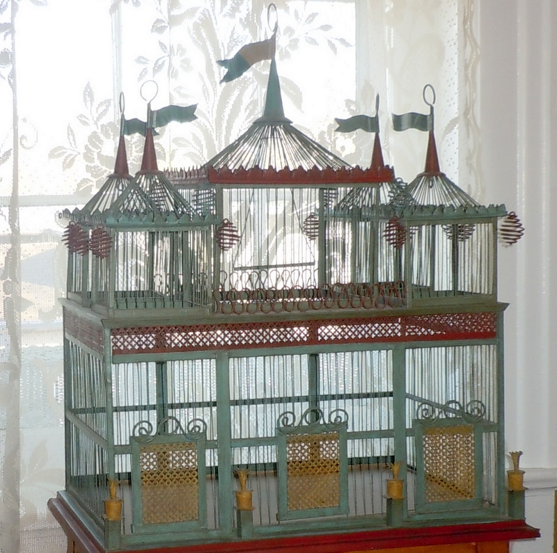 My Old Historic House Birdcages Flights Of Fancy