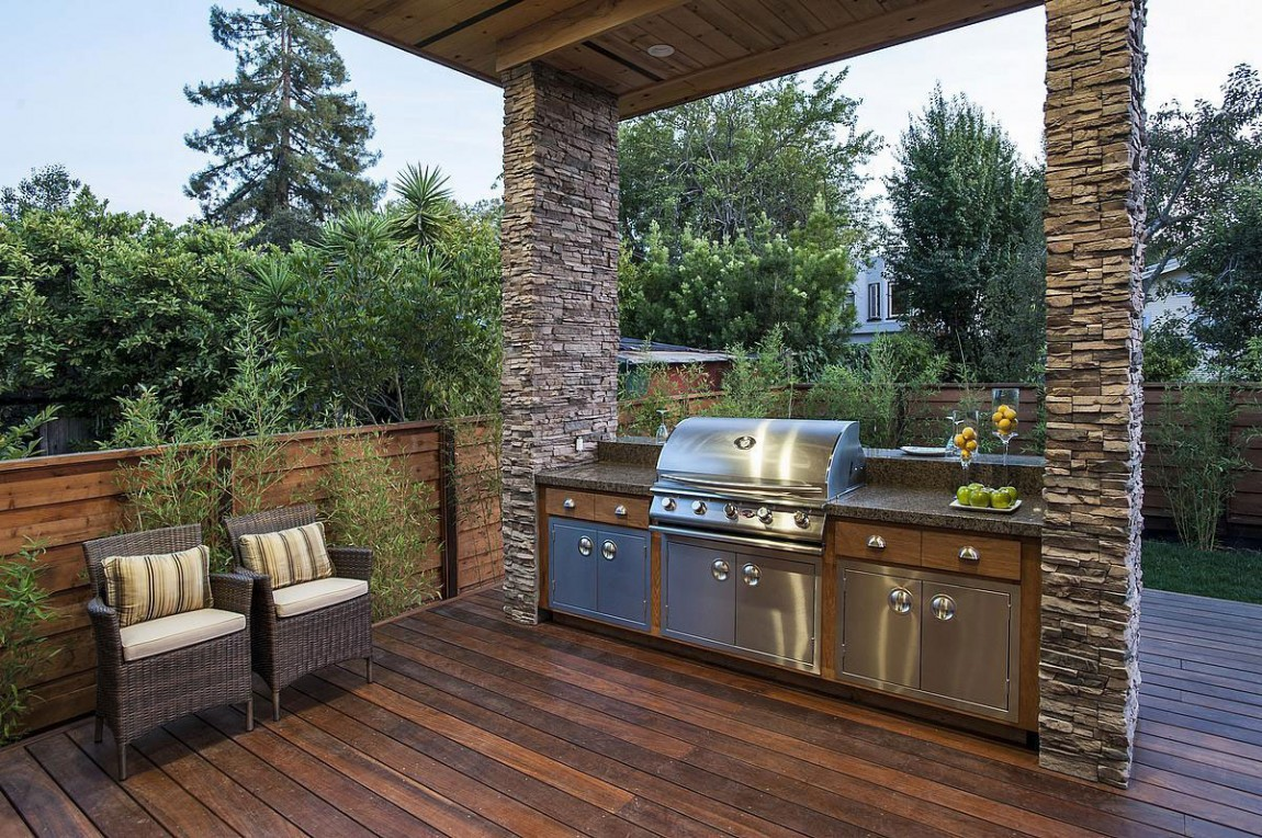 Outdoor Deck Design Ideas: World Of Architecture: Contemporary Style Home In