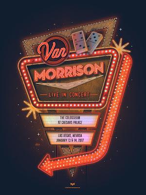 DKNG Studios Van Morrison Las Vegas Print