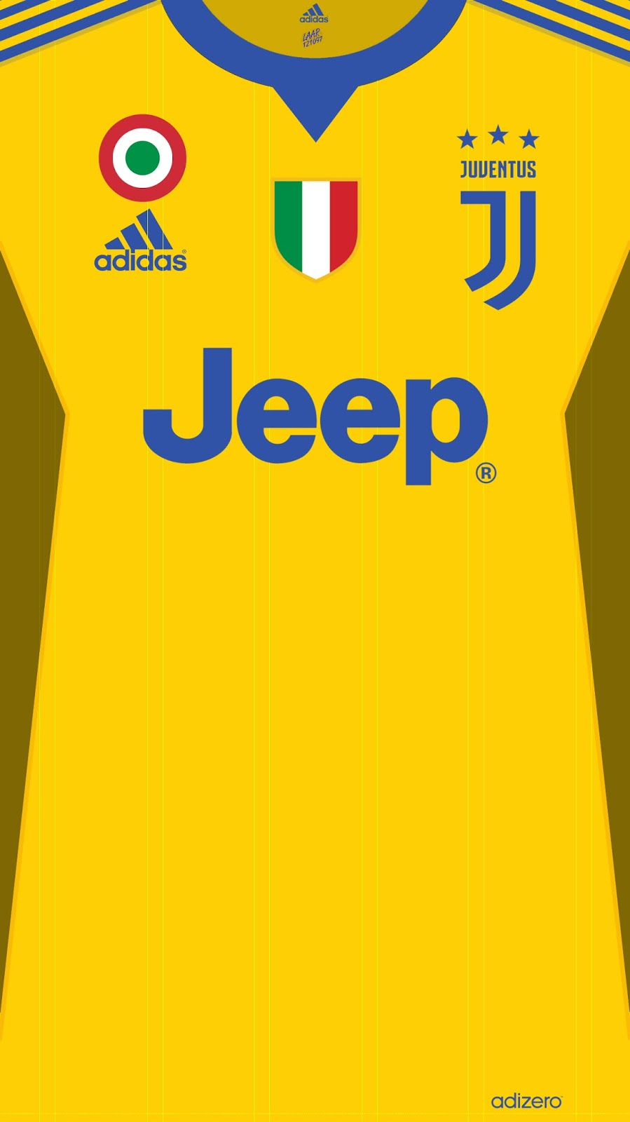 Wallpaper Jersey Juventus Football Club Serie A 2017-2018