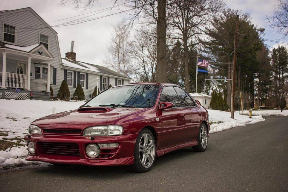 Daily Turismo: Flat-6 Club: 1993 Subaru Impreza w/ Legacy 6-Cyl