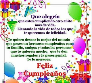 Feliz Cumpleaños Deseos 1