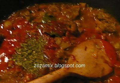 Chicken liver with vegetables - preparation