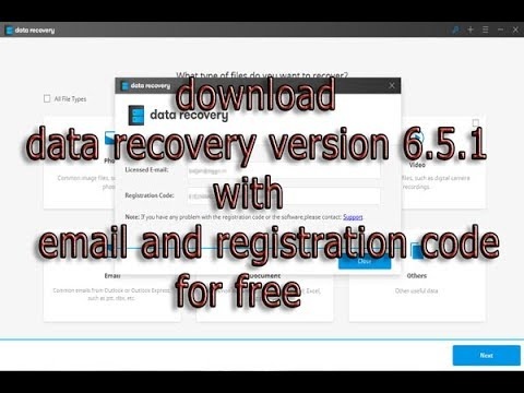 download ,and,install,data,recovery,version,6.5.1,with,email,and,registration,code