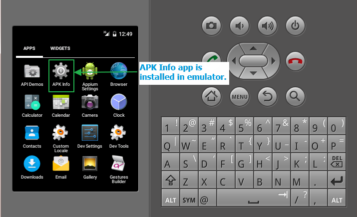 Install/Uninstall App In Emulator (AVD) Of Android From Command
