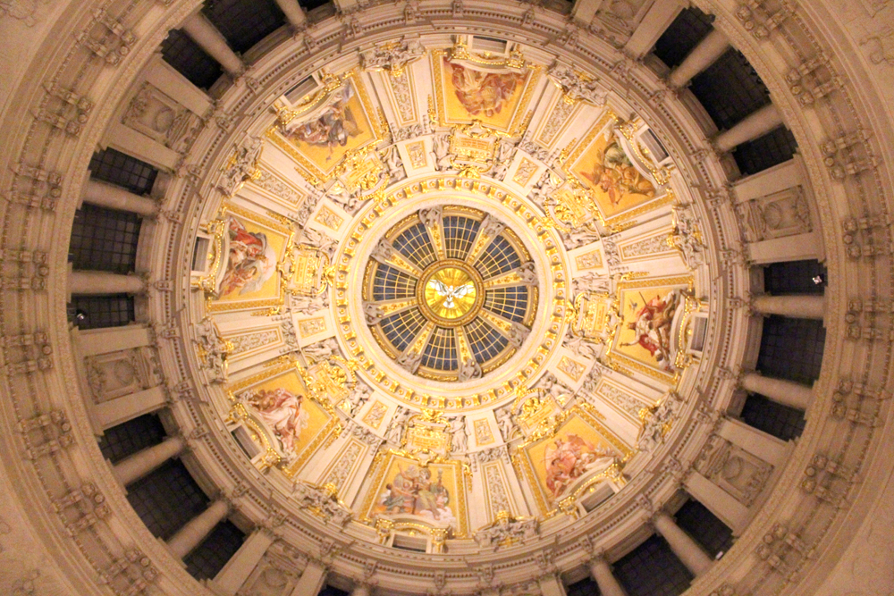 Berliner Dom Cathedral roof in Berlin - travel & lifestyle blog