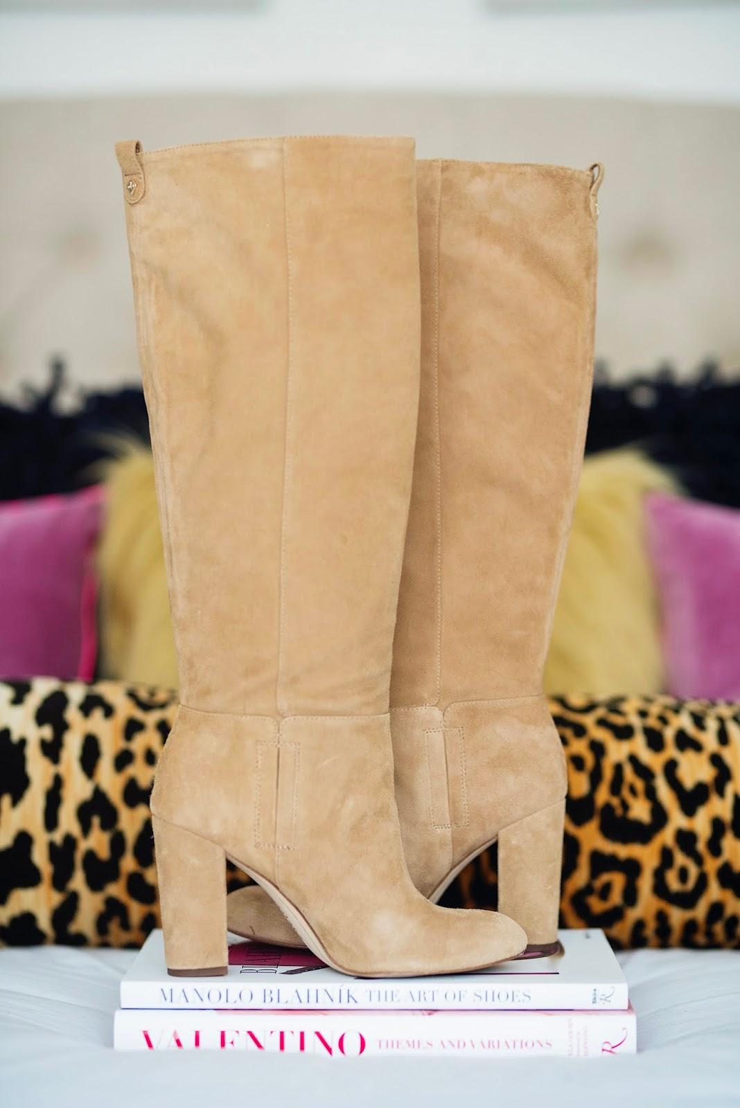 48782c23df2 Nordstrom Anniversary Sale Sam Edelman Caprice Knee-High Boots - Something  Delightful Blog