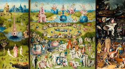 Hieronymus Bosch -The Garden of Earthly Delights -1503 -1504