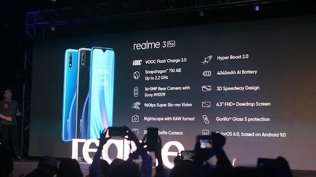 Handphone baterai besar, Realme