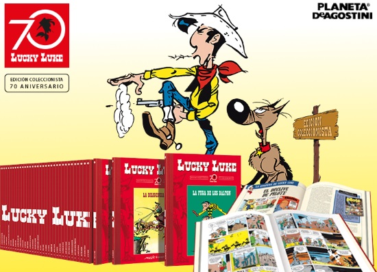 Colección Lucky Luke: 70 Aniversario, de Planeta De Agostini