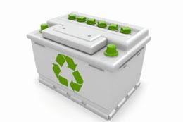 Recyclage de batterie de voiture