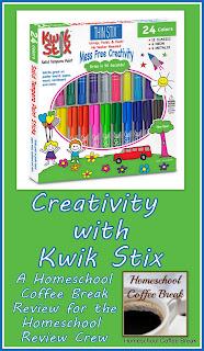 Creativity with Kwik Stix (A Homeschool Coffee Break Review and Giveaway) on Homeschool Coffee Break @ kympossibleblog.blogspot.com