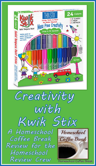Creativity with Kwik Stix (A Homeschool Coffee Break Review and Giveaway) on Homeschool Coffee Break @ kympossibleblog.blogspot.com