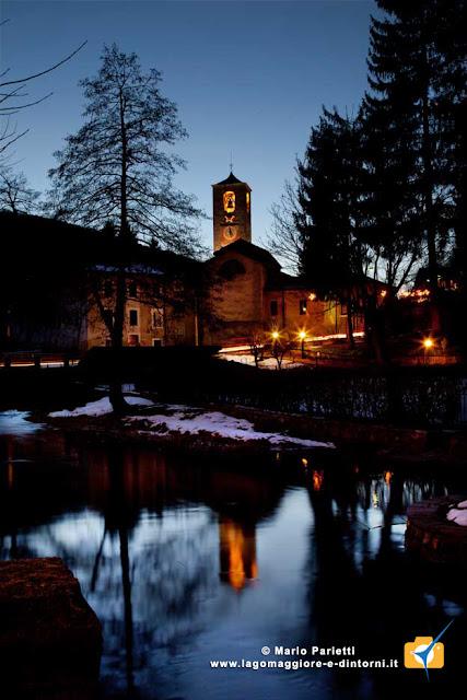 Badia di san Gemolo in versione invernale