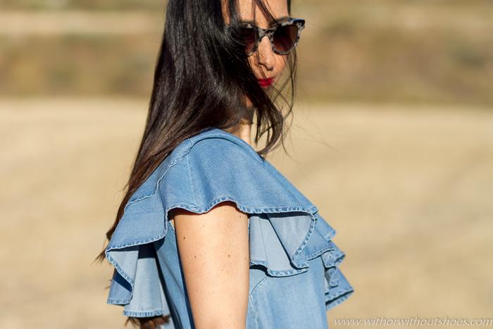 Blogger influencer instagramer de moda mujer outfit de verano