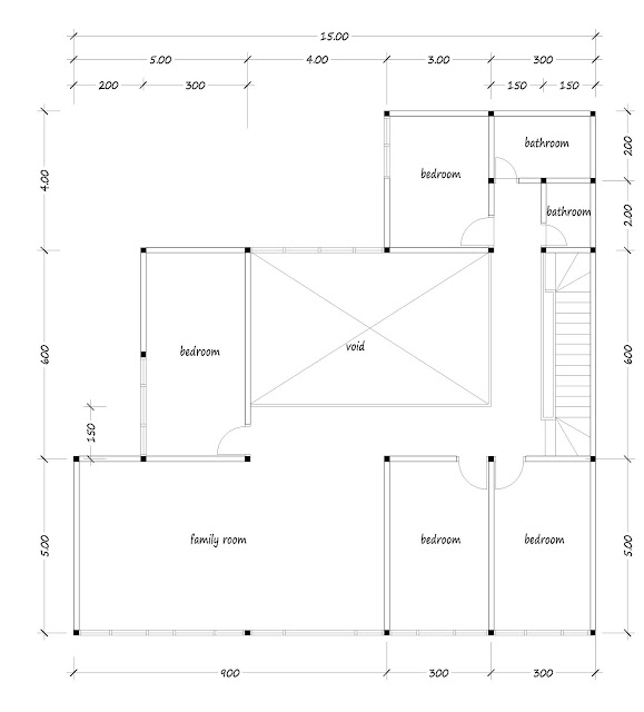 House with floor area of 400 square meters - 02