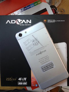 Cara Flash Advan i55 Mudah Via Flash Tools