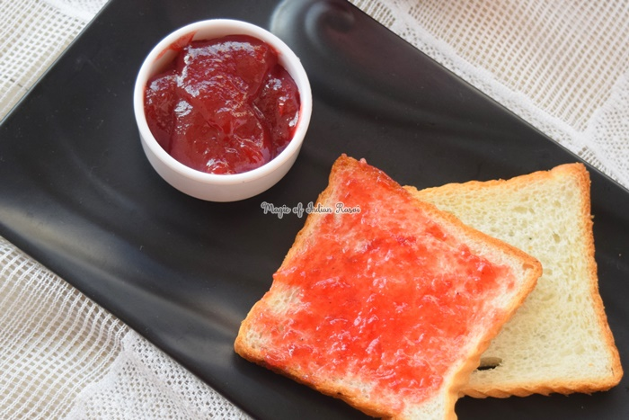 Mixed Fruit Jam - Homemade Fresh Fruit Jam Recipe - मिक्स फ्रूट जाम रेसिपी - Priya R - Magic of Indian Rasoi