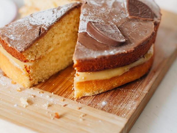 Chocolate Orange Boston Cream Pie Recipe!
