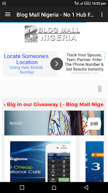 Download Blogmallnigeria.com Official Android App V1.0 With Amazing Features | Including linking all your favourite blogs & website together and read from one app