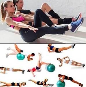 Ejemplos de algunos ejercicios para ejercitar los músculos abdominales en mujeres