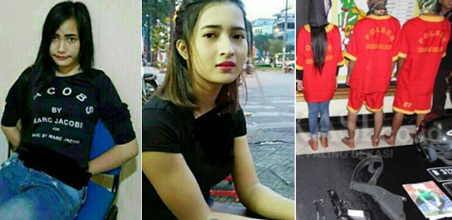 Wanita Cantik Ini Tega Menjual Teman Sekampung, 3 Bulan Di Upah Rp25 Juta !