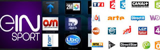 Arab + French beIN news sport Cine france iptv playlist m3u 23/6/2017
