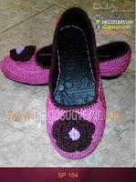 Sepatu rajut motif Biasa pakai bunga untuk reseller