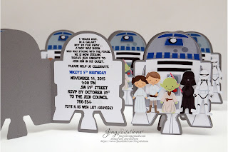 star wars party decorations, star wars invitations, star wars birthday, party banner
