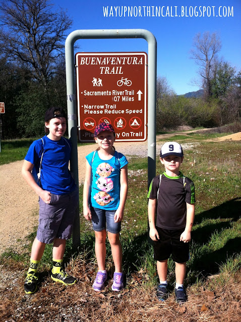 Buenaventura Trail, Redding, CA  www.wayupnorthincali.blogspot.com  Great blog about things to do in Northern California