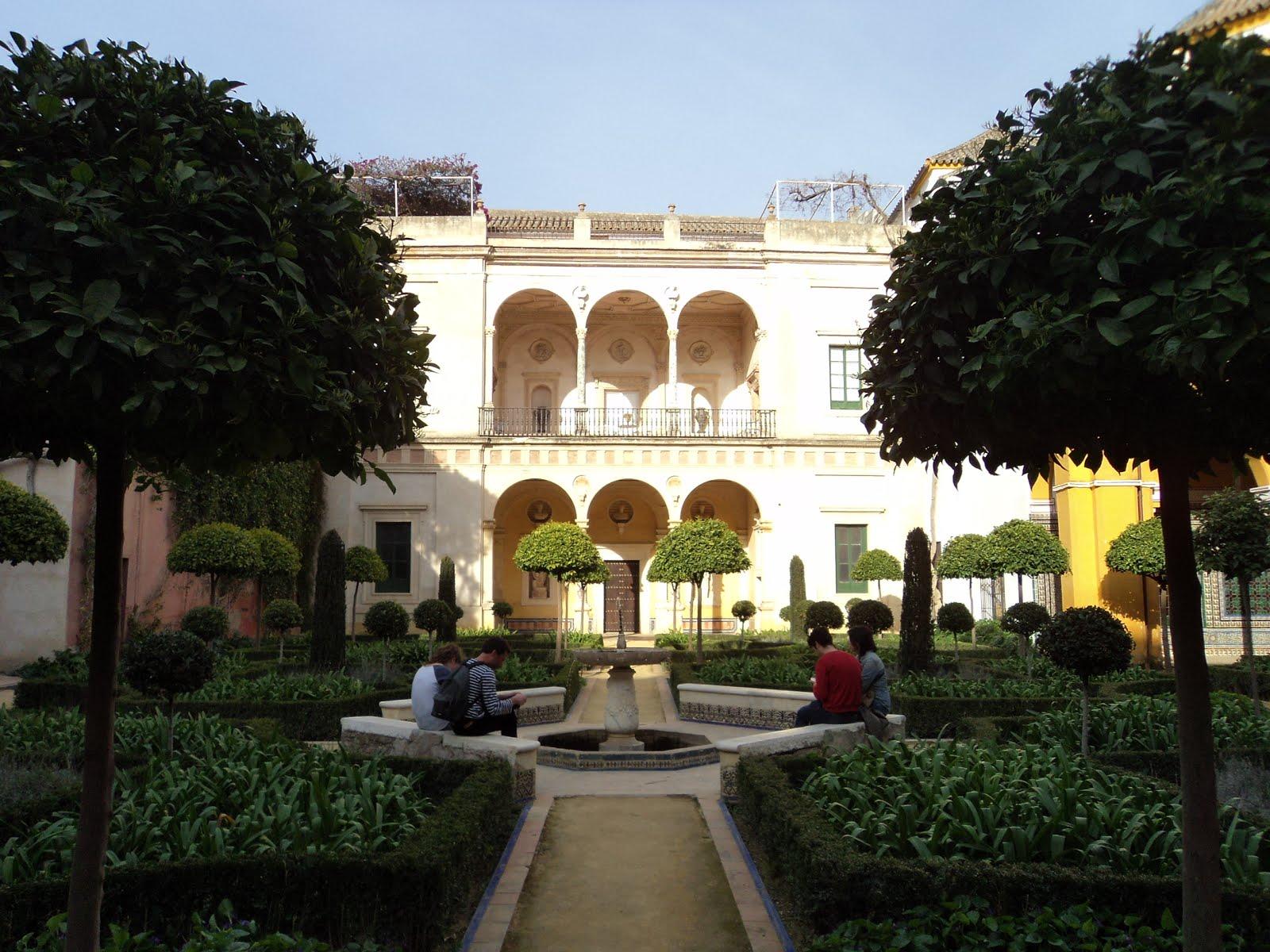 Cultura de sevilla palacios de sevilla un tesoro por descubrir - Jardines de sevilla ...