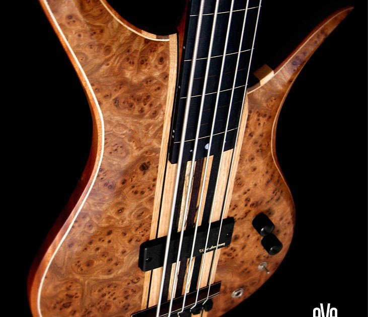 eve bass elite 5 string fretless 36 scale bass. Black Bedroom Furniture Sets. Home Design Ideas