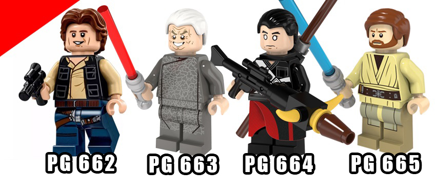BONECO LEGO STAR WARS