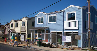 Low income housing being built
