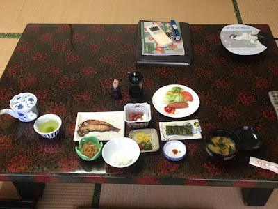 グリーン荘の朝食