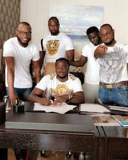 Davido just signed an artiste to DMW