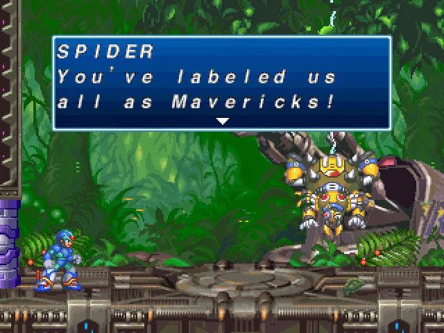 SuperPhillip Central: Mega Man X4 (PS1, SAT, PSN) Retro Review