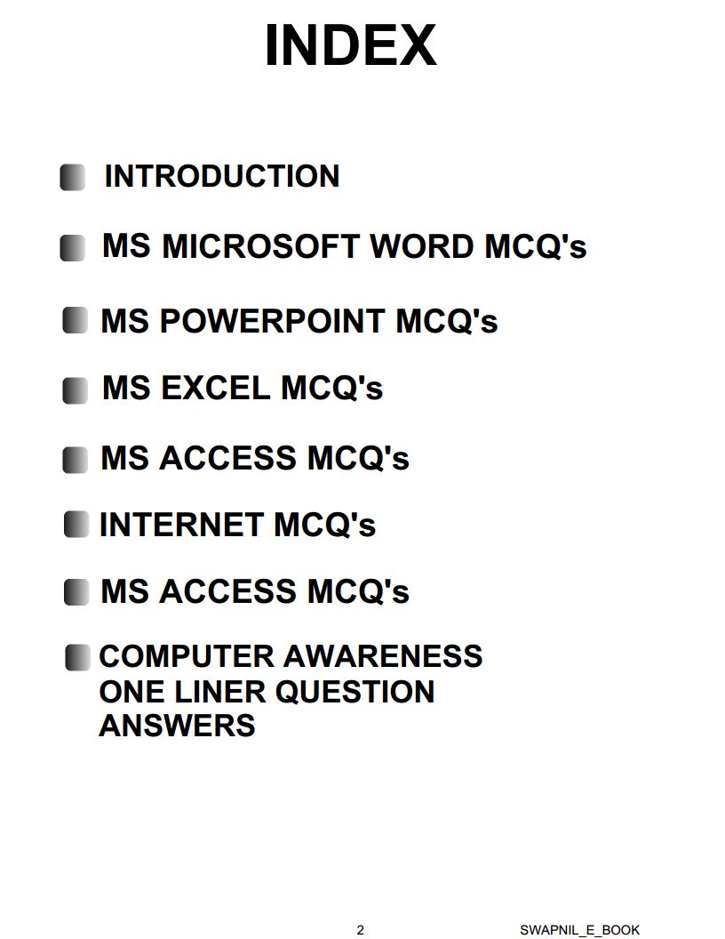 microsoft access test answers
