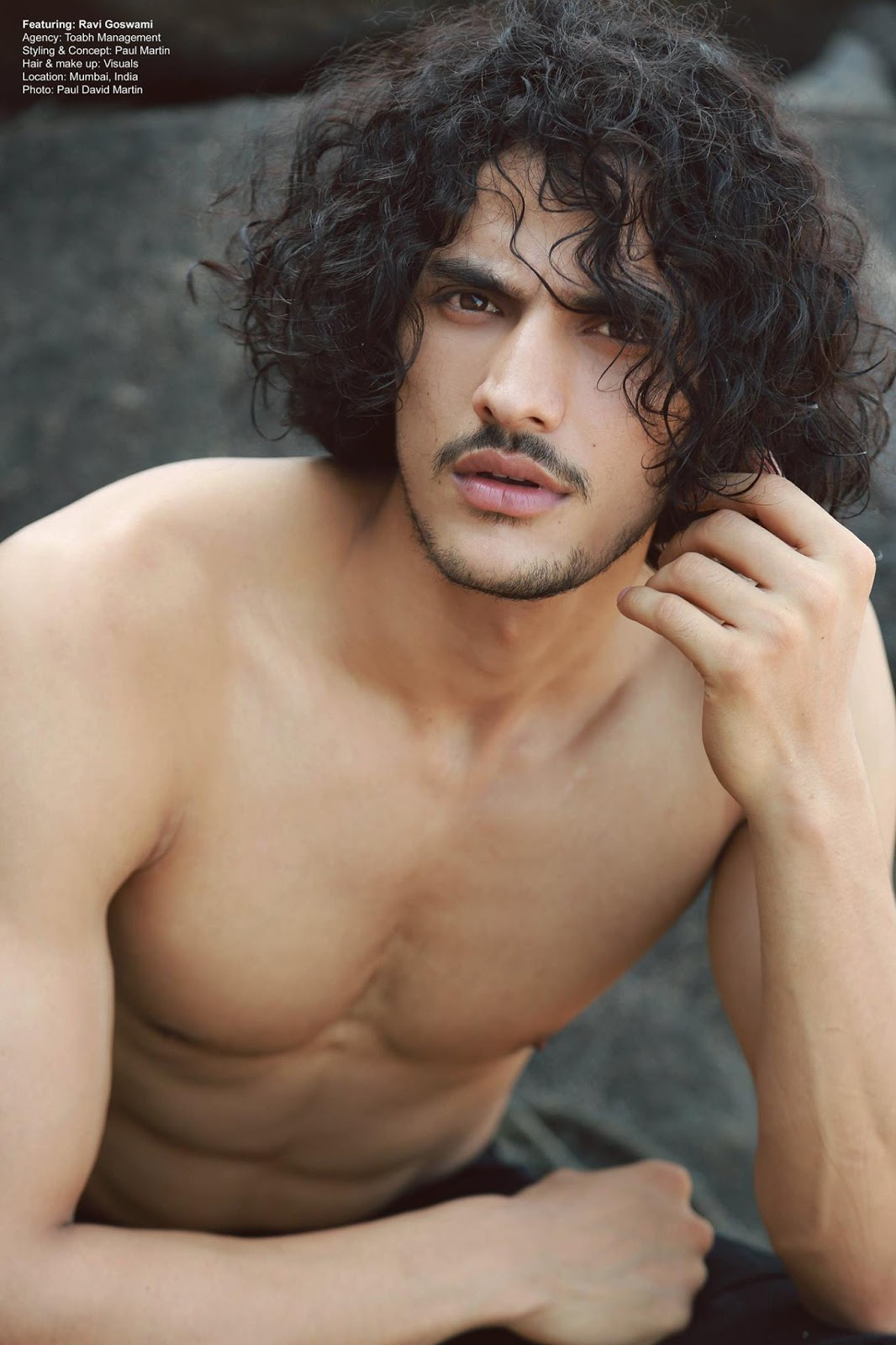Shirtless Bollywood Men Indian Male Models And Their Pubes-9062