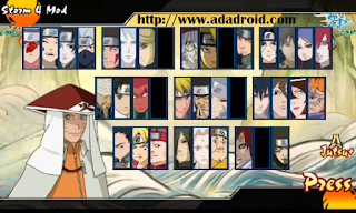 Download Naruto Senki UNS 4 Mod Indonesia Version Code 1 Apk