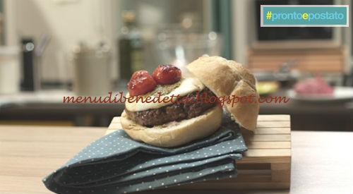 Pronto e postato - Mic burger ricetta Benedetta Parodi