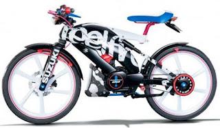 Suzuki Feel Free Go evolusi sepeda onthel