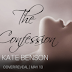 Cover Reveal - The Confession by Kate Benson