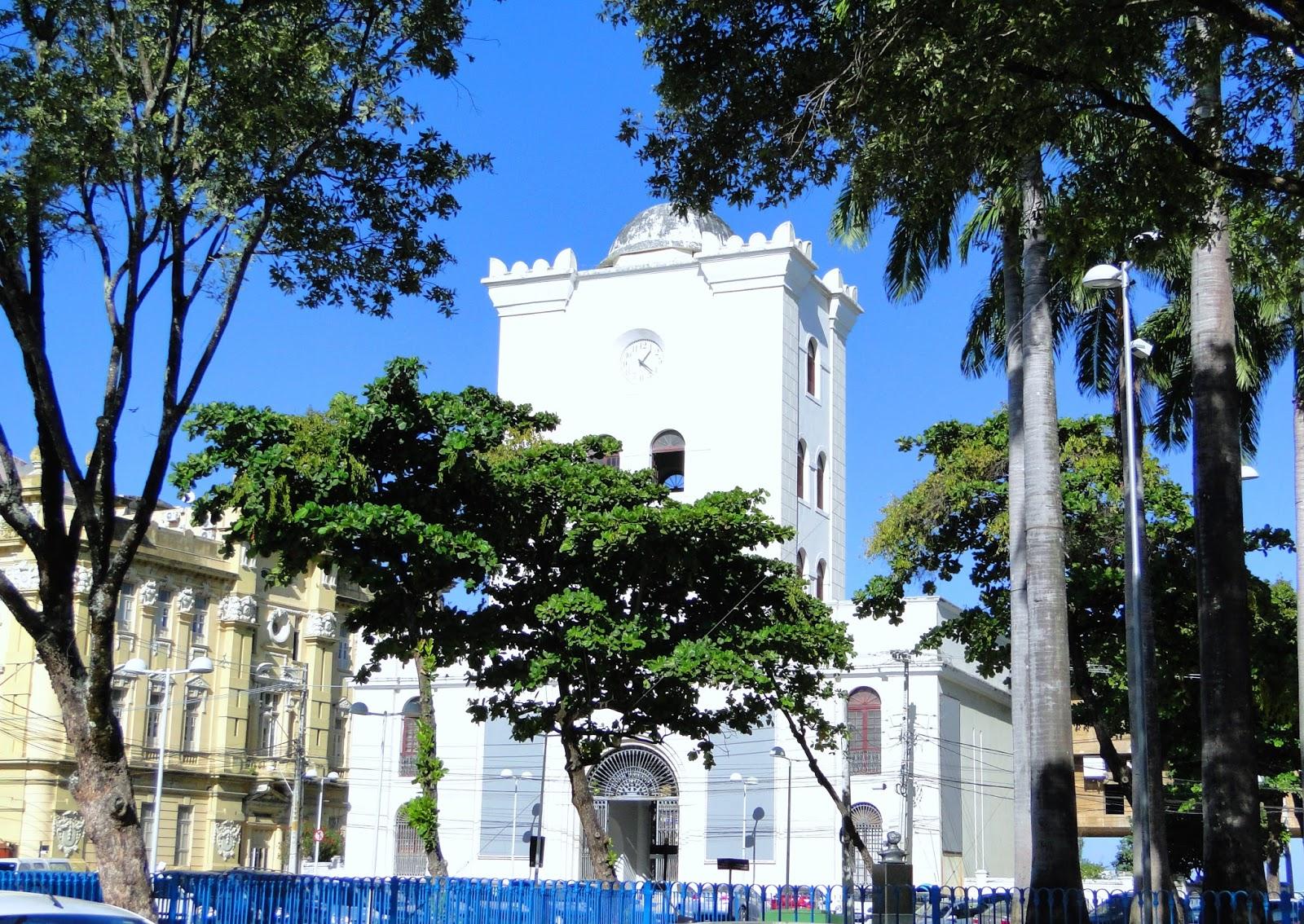 Marco Zero de Recife, Pernambuco,Brasil.