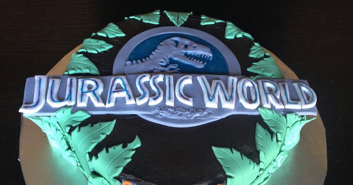 Custom Cakes By Julie Jurassic World Cake And Toppers