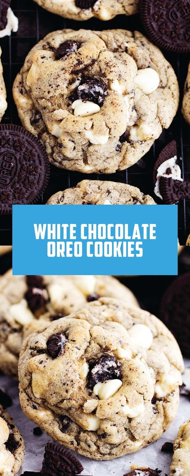 WHITE CHOCOLATE OREO COOKIES